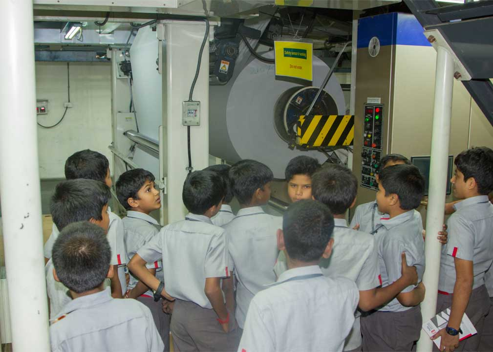 oys from Perks matriculation school visit The Hindu Newpaper co