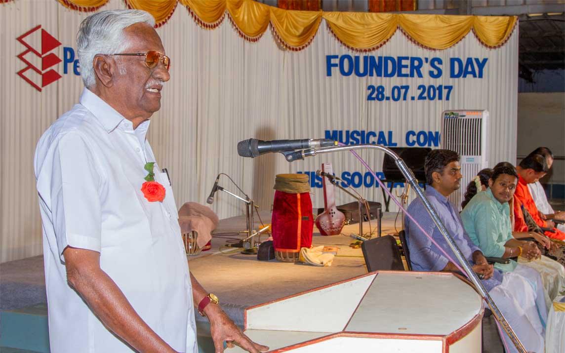 Tamil Poet Puviyarasu inaugurating the event