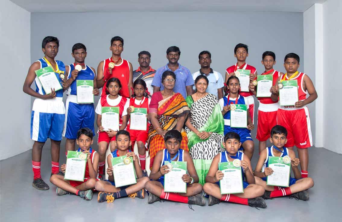 Winners of Boxing Team