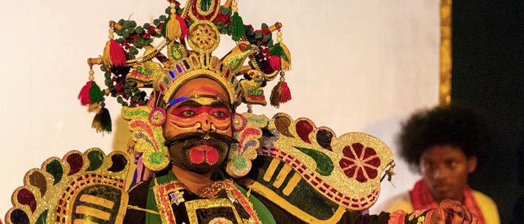 Thuchadanan in Mahabarath therukoothu