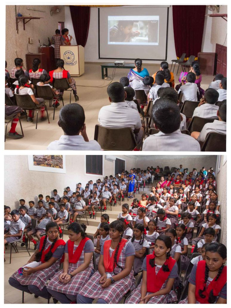 Perks students speech on world Environment day