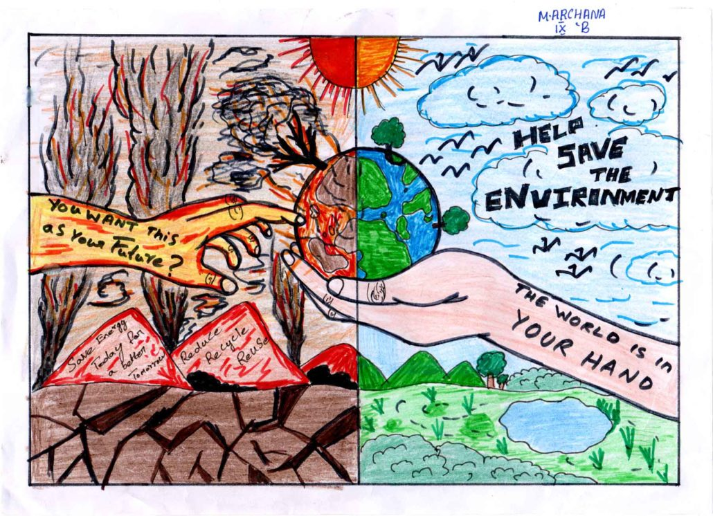Archana-environmental-painting