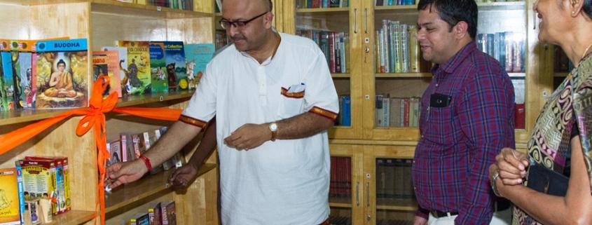 Indic-Book-Shelf-Inauguration-perks-school-library